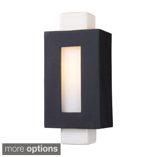 Sundborn 1-light Matte Black Sconce