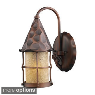 Rustica Antique Copper or Matte Black 1-light Outdoor Sconce