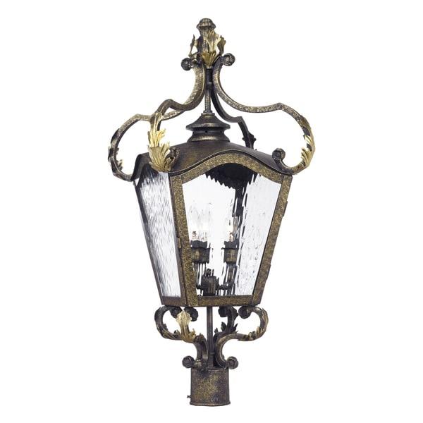 Acadiana Outdoor Post Lantern