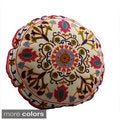 Medallion Design Round Floor Pillow (India)