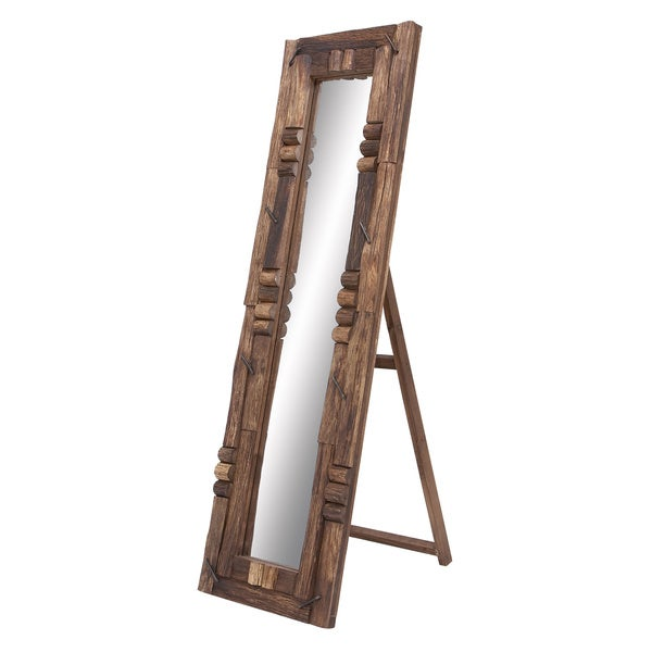 Weathered Wood Mirror