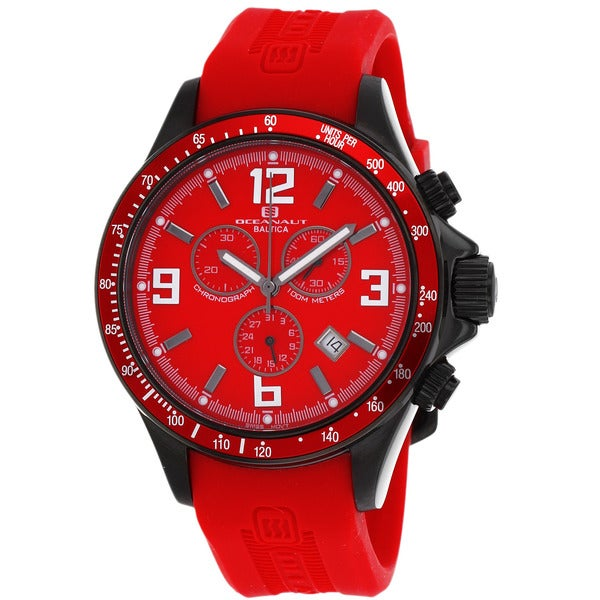 Oceanaut Men's Red Baltica Watch
