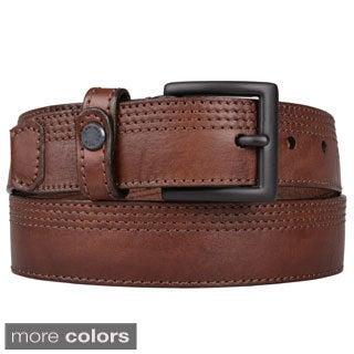 Marc NY Men's Genuine Leather Belt