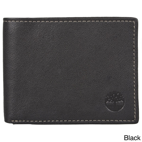 Imported Timberland Men's Genuine Leather Bifold Slim Wallet