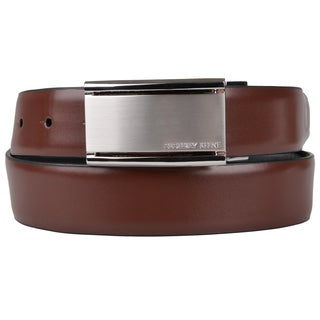 Geoffrey Beene Men's Genuine Leather Reversible Belt