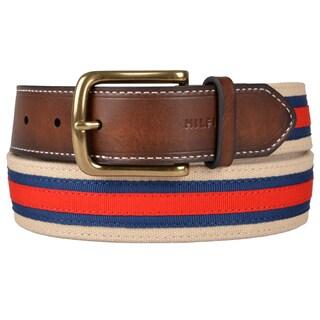 Tommy Hilfiger Men's Reversible Canvas Belt
