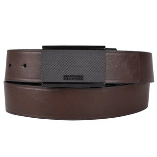 Kenneth Cole Reaction Men's Brown-and-Black Genuine-Leather Reversible Belt