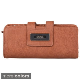 Kenneth Cole Reaction Women's Tab Clutch Wallet with Wristlet