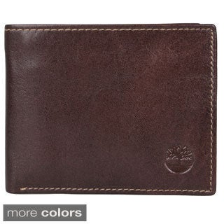 Timberland Men's Leather Bi-fold Wallet
