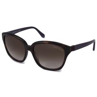 Roberto Cavalli Women's RC733S Baros Havana Sunglasses