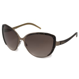 Roberto Cavalli Women's RC655S Salvia Bronze-Brown Sunglasses