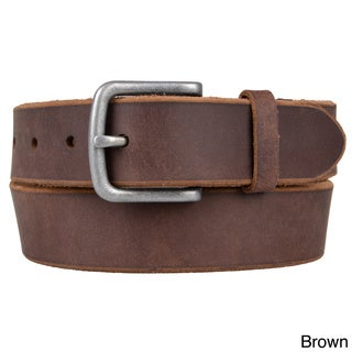 Timberland Men's Raw Edge Genuine Leather Belt