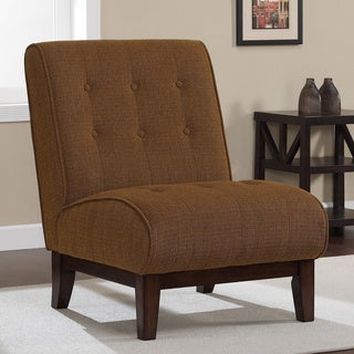 Plinth Base Chestnut Slipper Chair
