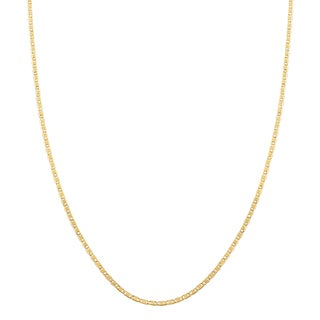 Fremada 10k Yellow Gold 1.2-mm Valentino Chain (16 - 20 inch)