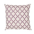 Handmade Embroidered Geometric Cotton 20x20-inch Throw Pillow