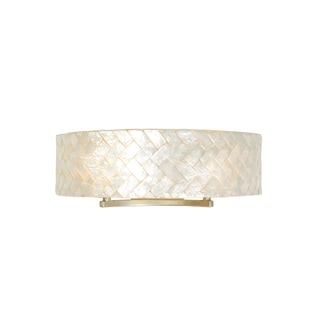 Varaluz Radius 2-light Gold Dust Vanity