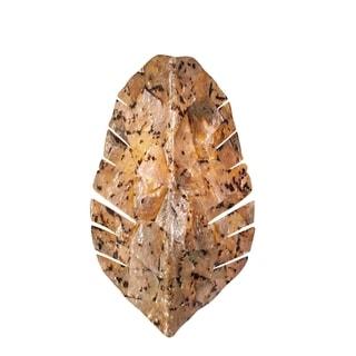 Varaluz Banana Leaf 2-light Chocolate Tiger Shell Sconce