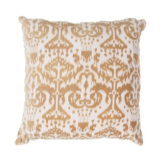 Handmade Ikat Cotton 20x20-inch Throw Pillow