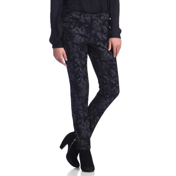 Live A Little Women's Shadow Print Skinny Jeans