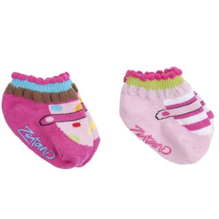 Zutano Infant Girls Turncuff Socks (Pack of 2)
