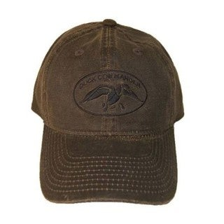 Duck Commander Brown Waxed Hat