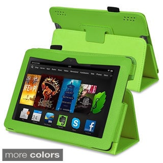 BasAcc Stand Leather Case for Amazon Kindle Fire HDX 7-inch