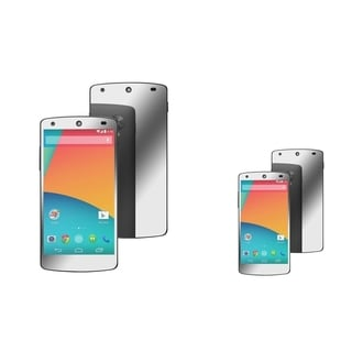 BasAcc Mirror Screen Protector for LG Nexus 5 E980 (Pack of 2)