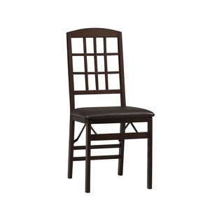 Triena Window Pane Folding Chairs