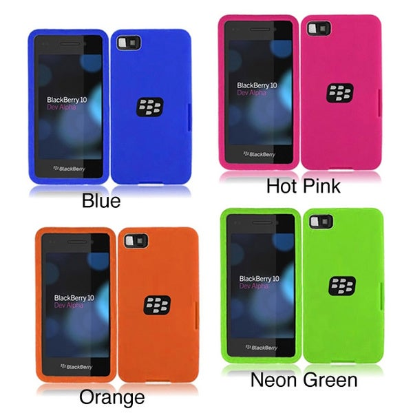 INSTEN Soft Silicone Phone Case Cover for Blackberry Z10