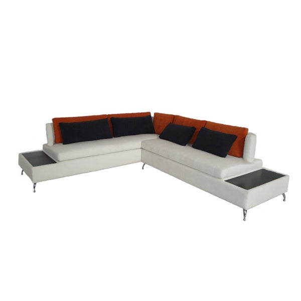 Francesca Sectional Sofa 15903411 Overstock Com