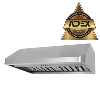 "KOBE Brillia CHX191 Series, 36"" Under Cabinet Range Hood, 680 CFM, Stainless Steel, Baffle Filter, QuietMode, LED Lights"