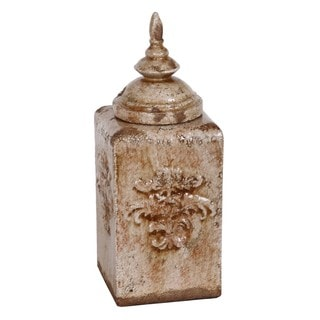 Privilege Medium Brown Ceramic Urn