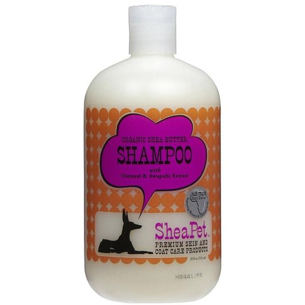 SheaPet Organic Shea Butter Pet Shampoo Oatmeal