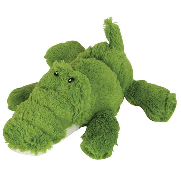 KONG Cozie Green Alligator Plush Dog Toy