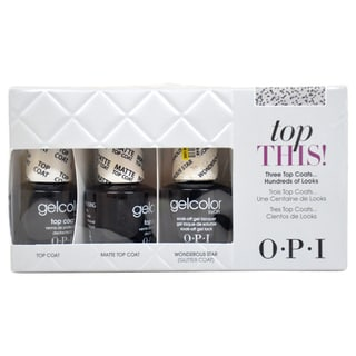 OPI Top This Gel Color Set 3-piece Mini Set