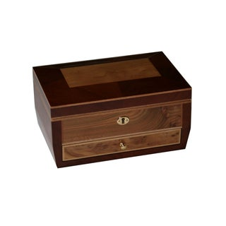 Dark Wood Jewelry Collection Box