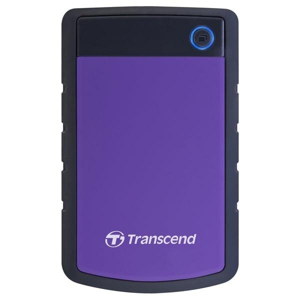 "Transcend StoreJet 25H3P 2 TB 2.5"" External Hard Drive"