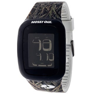 Mossy Oak Men's Leaf and Grass Printed Band Automatic Watch