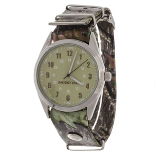 Mossy Oak Green and Silver Men's Watch