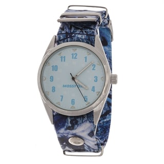 Mossy Oak Blue Band Men's Watch