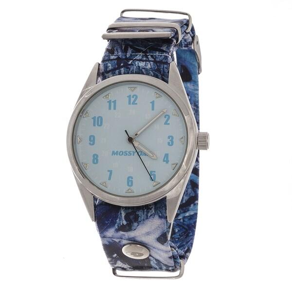 Mossy Oak Blue Band Men's Watch