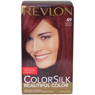 Revlon ColorSilk Beautiful Color #49 Auburn Brown Hair Color (1 Application)