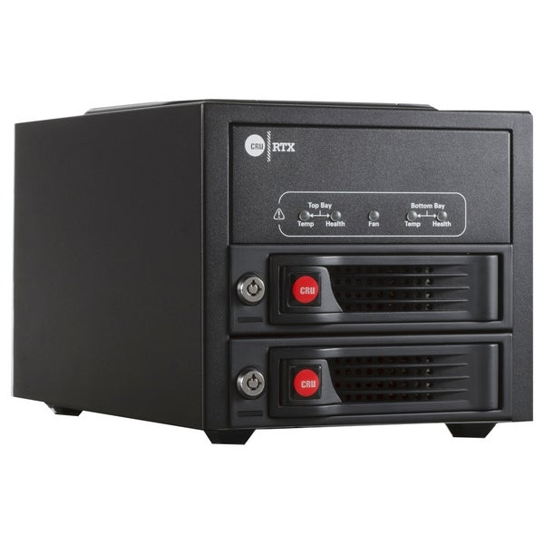 CRU RTX RTX220-3QJ DAS Array - 2 x HDD Supported
