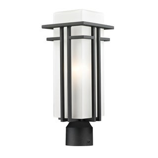 Z-Lite Black Aluminum Outdoor Post Light