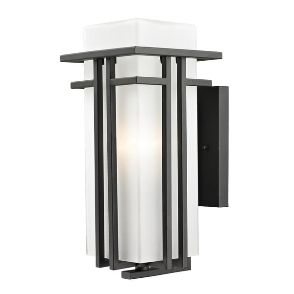 Z-Lite Art Deco Outdoor Wall Light - 15904650 - Overstock.com Shopping - Big Discounts on Z-Lite ...