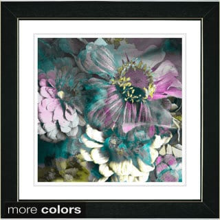 Zhee Singer 'Anapolis Floral' Framed Art Print