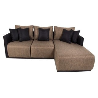 Black Dymond 3-piece Modular Sectional Furniture Set
