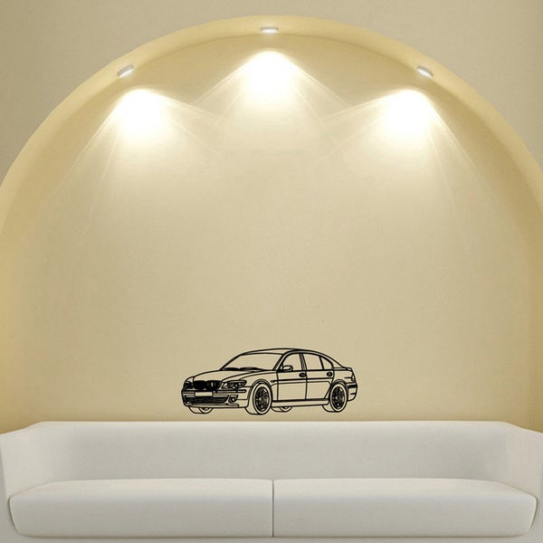 BMW Car Design Vinyl Wall Art Decal