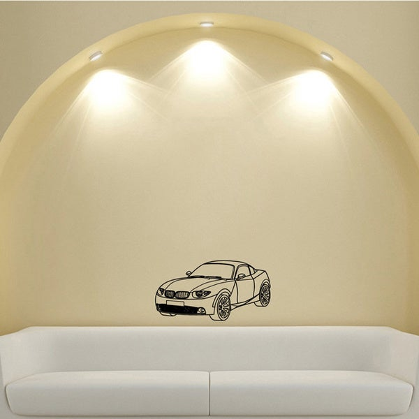 BMW Machine Urban Transport Design Vinyl Wall Art Decal