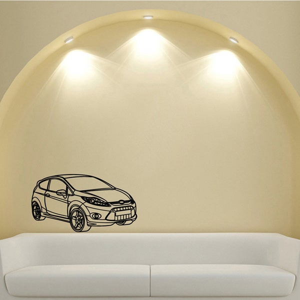 Ford focus Power Motion Machine Design Vinyl Wall Art Decal
